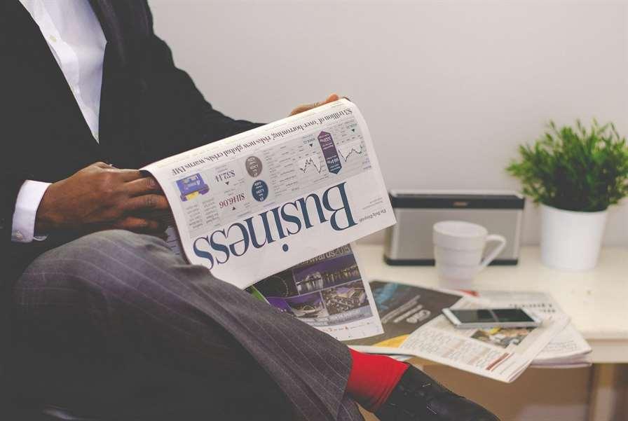 business man, newspaper, business-1031755