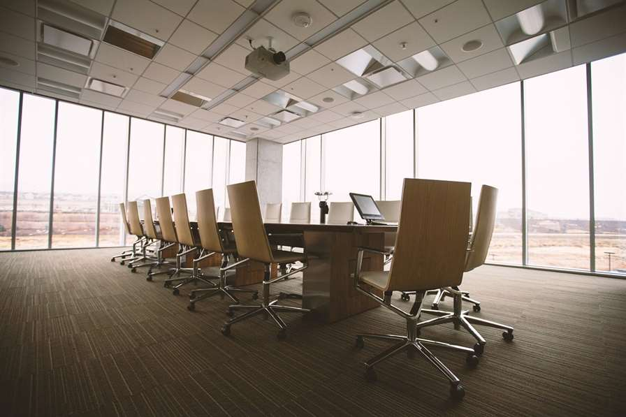 conference room, table, office-768441