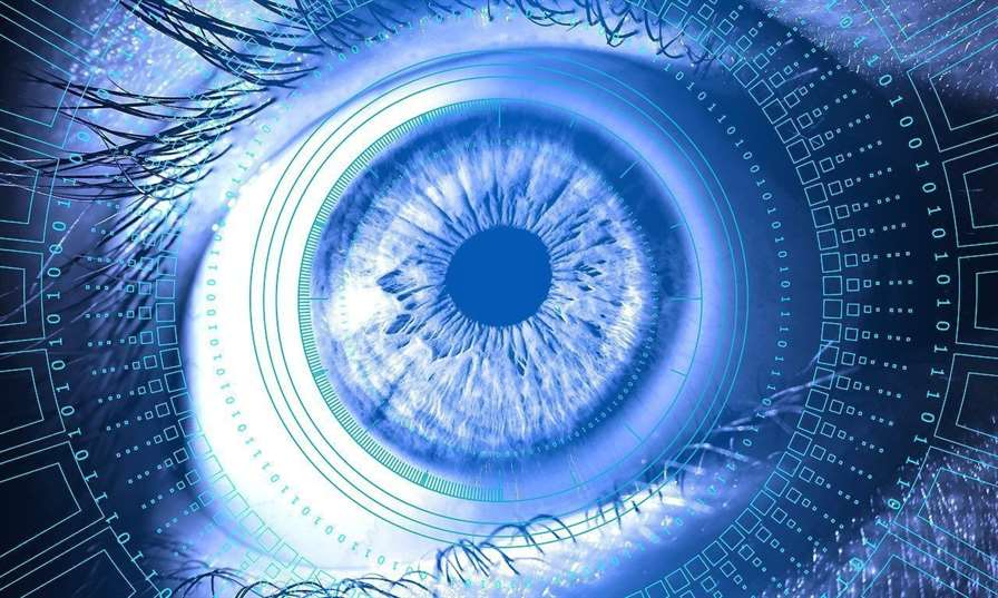 eye, information, technology